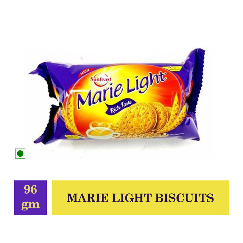 Biscuits & Cookies, Sunfeast Marie Light Rich Taste Biscuits - 91gm