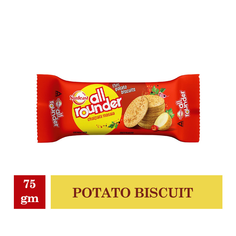 New Arrivals, Sunfeast All Rounder Potato Biscuit - 75g