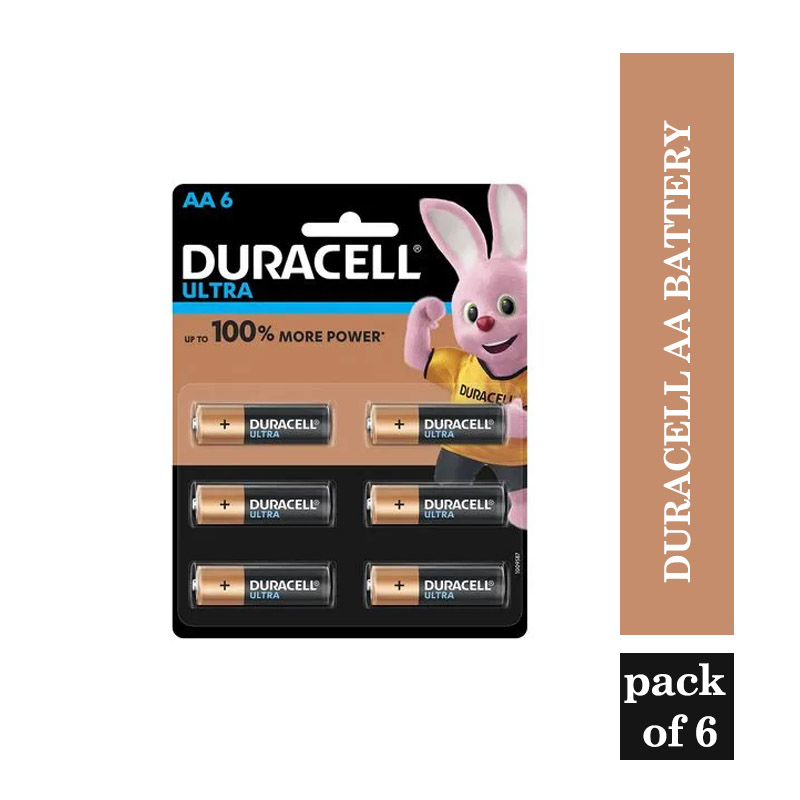 Office & Household Products, Duracell AA Battery  - (Pack of 6)