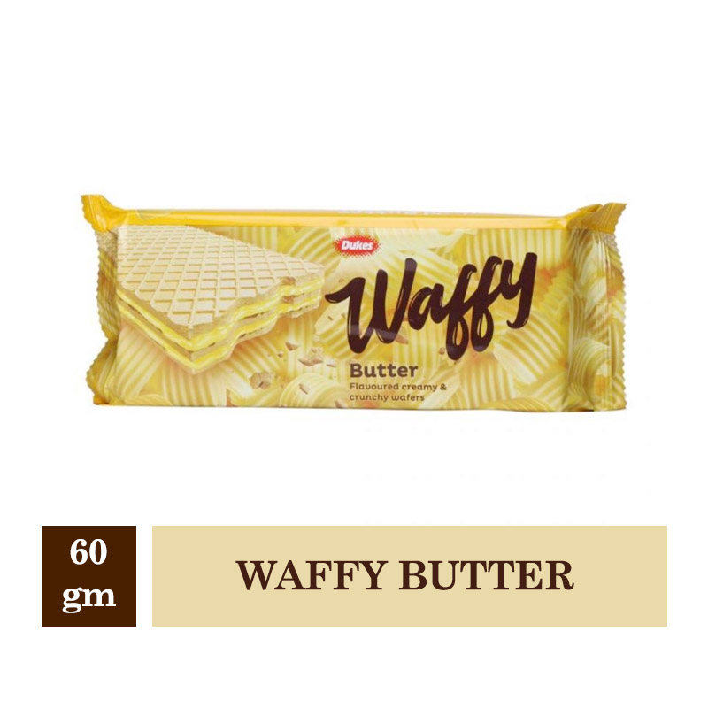 Chocolates & Candies, Dukes Waffy Butter - 60gm
