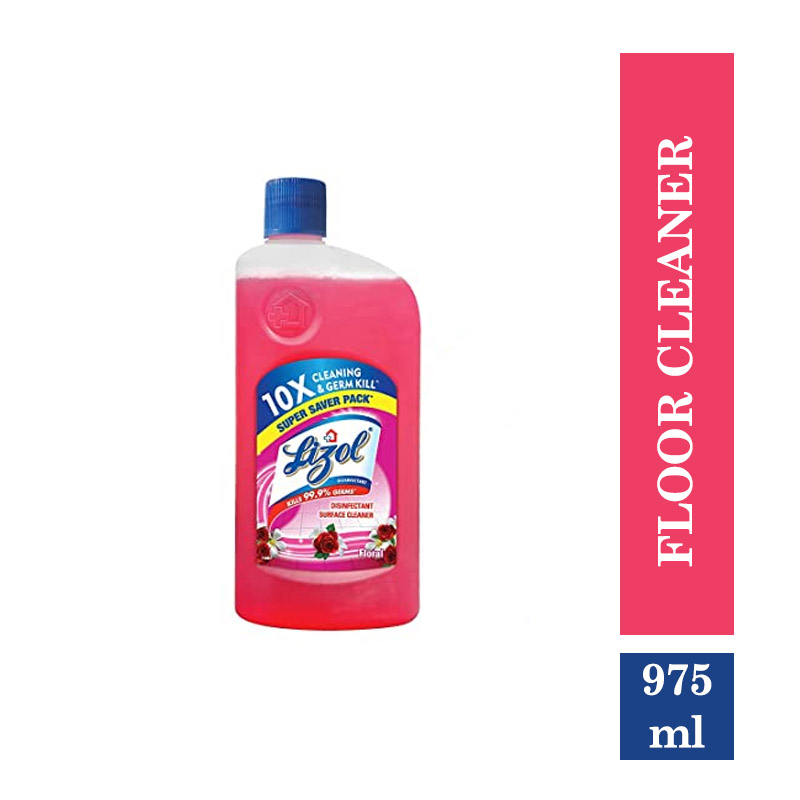 Combo Offers, Lizol Disinfectant Floor Cleaner Floral - 975 ml