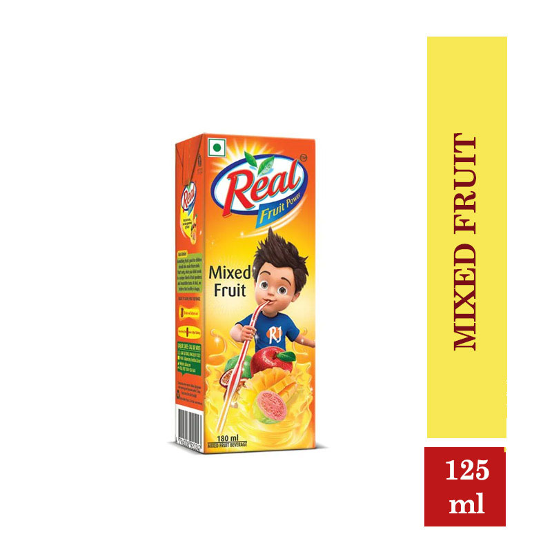 Juices, Real Fruit Power Mixed Fruit - 125ml