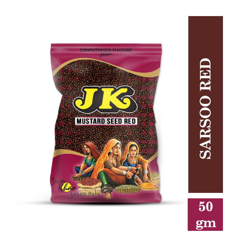 Masala & Spices, Jk Sarsoo Red - Whole - 50gm