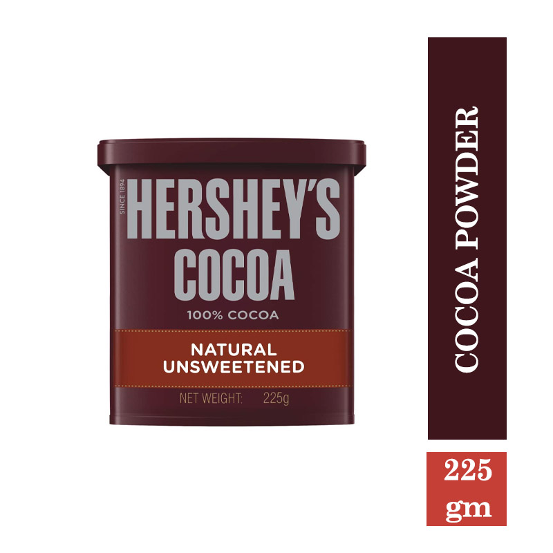 Ready to Cook & Eat, Hershey's Cocoa Powder Tub - 225gm