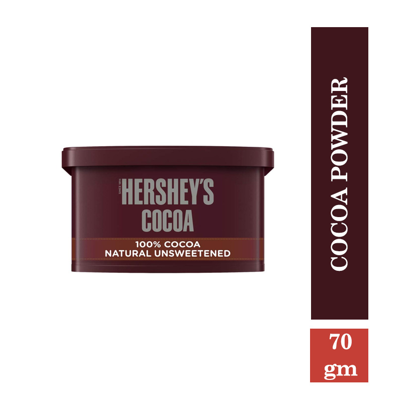 Ready to Cook & Eat, Hershey's Cocoa Powder Tub - 70gm