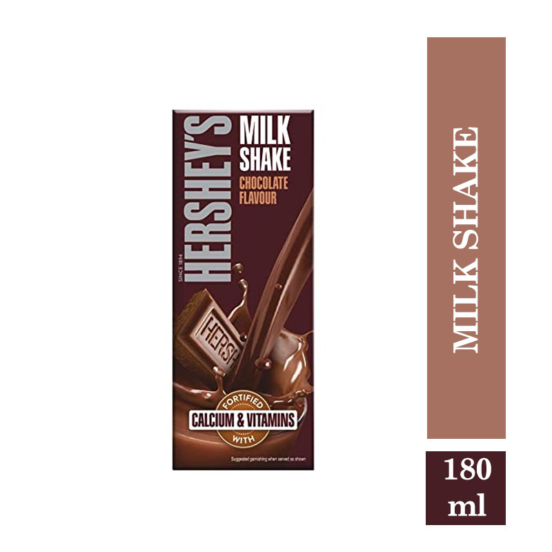 Top Household Products, Hershey's Milk Shake Chcocolate Flavour - 180ml