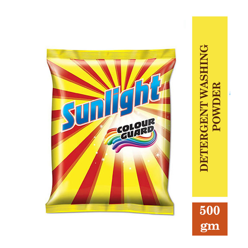 TOP Household Products, Sunlight Detergent Washing Powder (500gm)