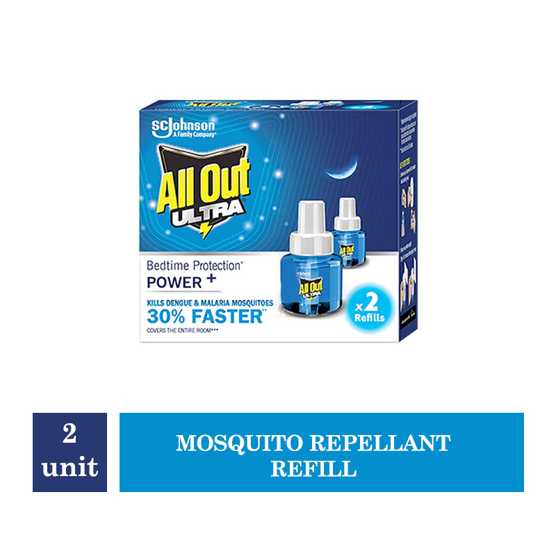 All Out Ultra Mosquito Repellant Refill - 2 units