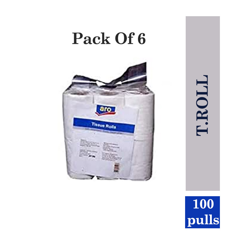 Office & Household Products, Aro T.Roll 100 Pulls (Pack of 6)