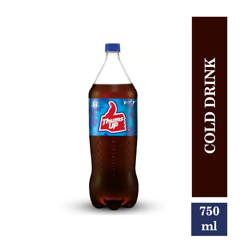 Thums Up Soft Drink - 750 ml Bottle