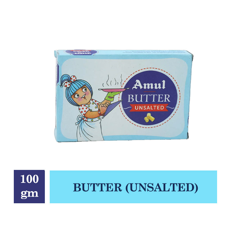 Amul Unsalted Butter - 100 gm
