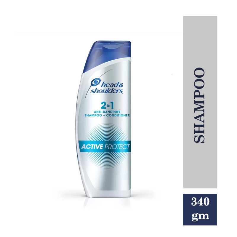 Head & Shoulders 2-in-1 Active Protect Shampoo-340gm