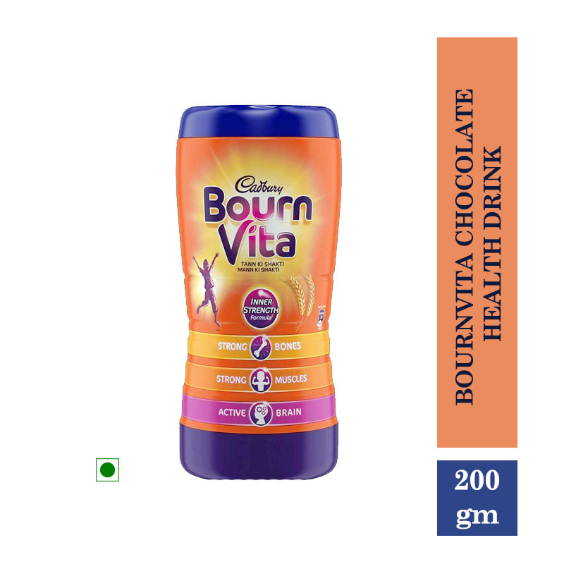 Health Drinks, Bournvita Chocolate Health Drink (200gm)