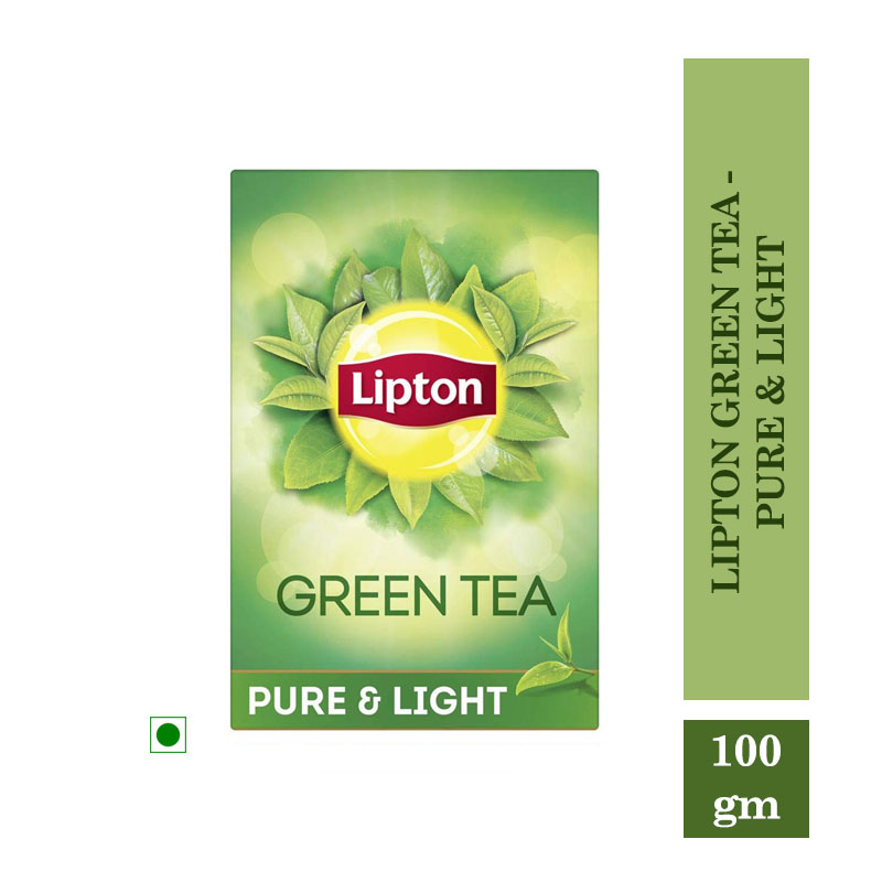 Tea/Coffee, Lipton Green Tea - Pure & Light (100gm)