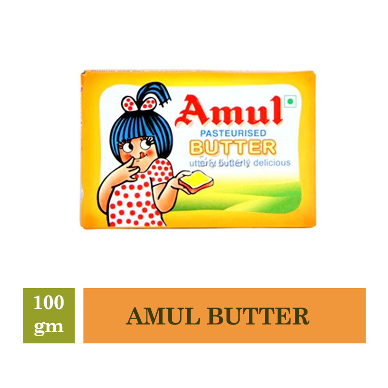 Dairy, Amul Butter - 100Gm