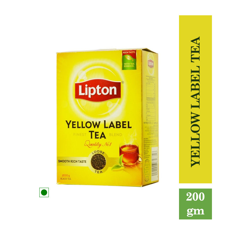 Tea/Coffee, Lipton Yellow Label Tea (200gm)
