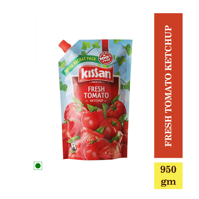TOP Household Products, Kissan Fresh Tomato Ketchup (950gm)