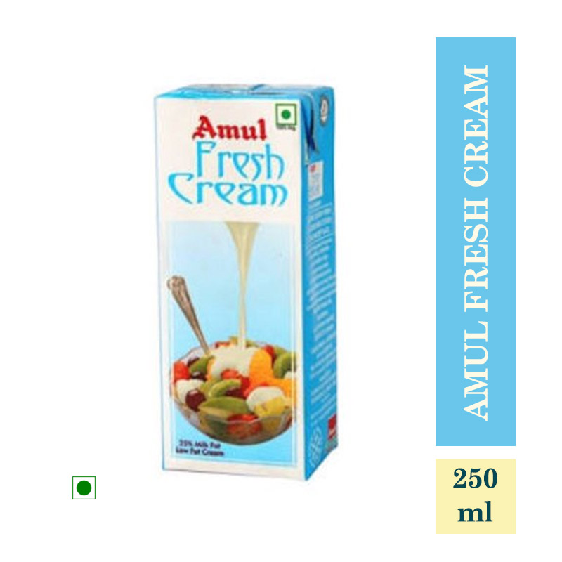 Dairy, Amul Fresh Cream - 250ml