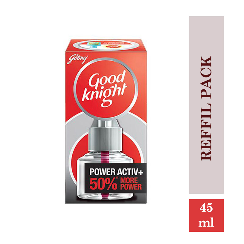 Fresheners & Repellents, Good Knight Power Active + Reffil Pack (45ml)