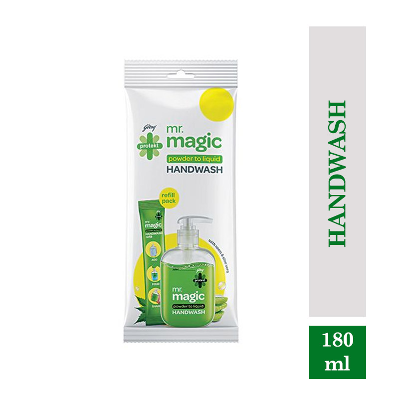 Godrej Protekt Mr Magic Handwash - Pouch (180ml)