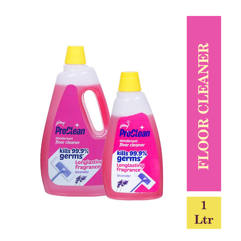 All Purpose Cleaners, Godrej Proclean Disinfectant Floor Cleaner - Lavender (Buy 1Ltr Get 500ml Free)