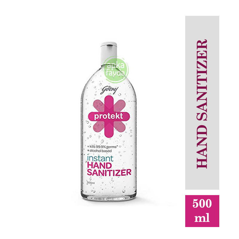 Godrej Protekt Hand Sanitizer Gel (500ml)
