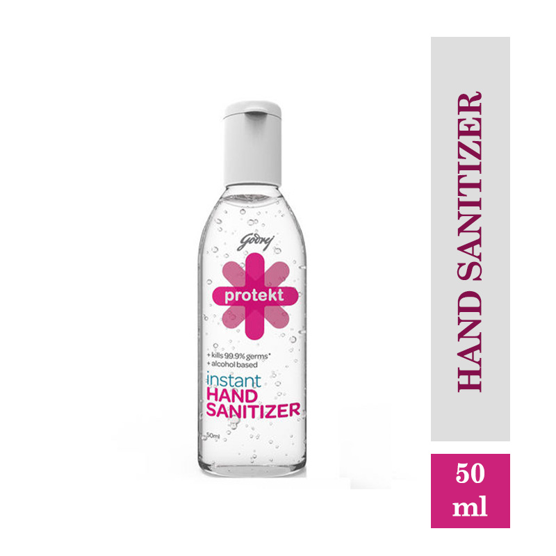 Godrej Protekt Hand Sanitizer Gel (50ml)