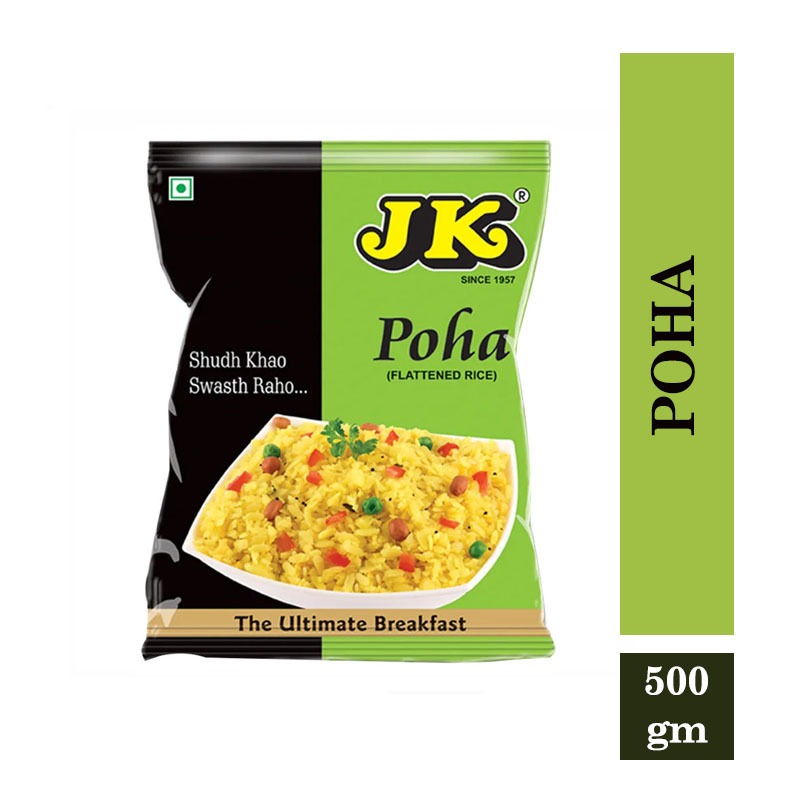 TOP Household Products, JK Poha - Flattened Rice (500gm)