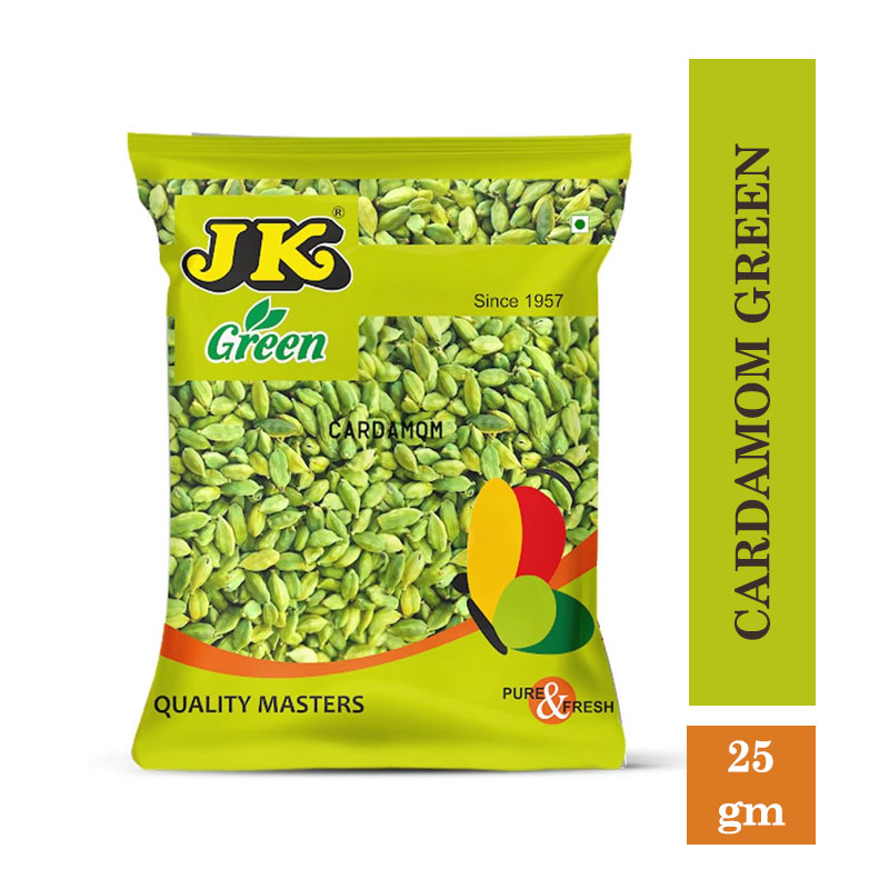 TOP Household Products, JK Cardamom Green (25gm)