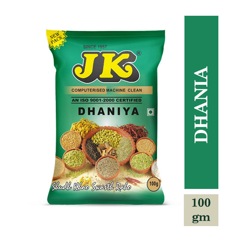 Masala & Spices, JK Dhania - Whole (100gm)