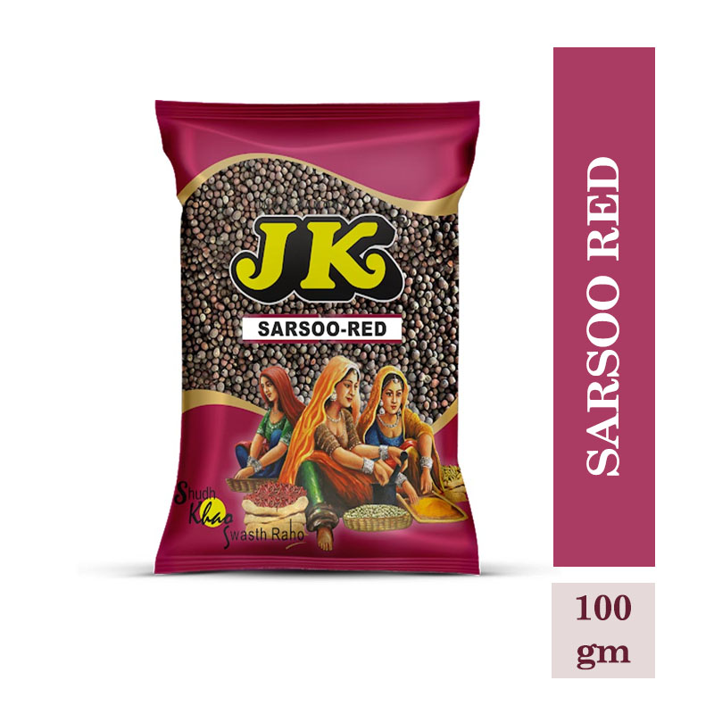 Masala & Spices, JK Sarsoo Red - Whole (100gm)