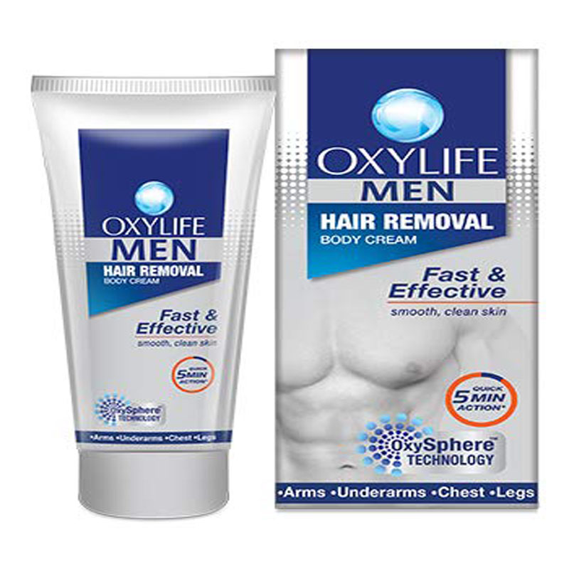 Men's Grooming, Oxylife Men Hair Removal Cream (40gm)
