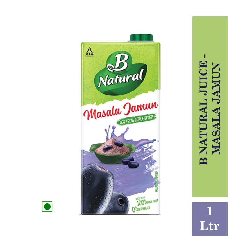 Juices, B Natural Juice - Masala Jamun 1Ltr