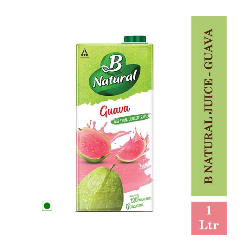 Juices, B Natural Juice - Guava 1Ltr