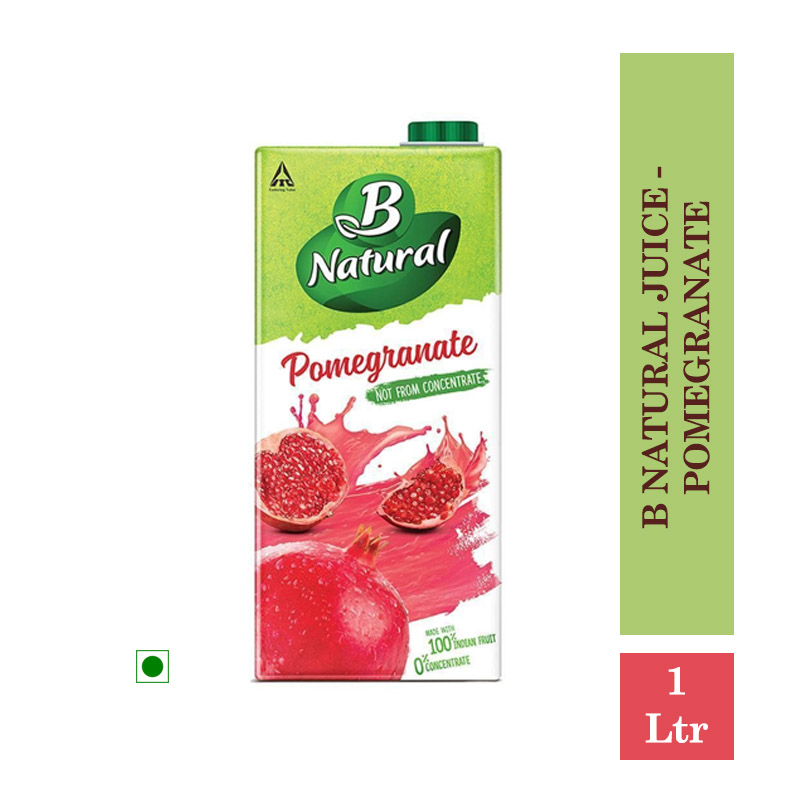 Juices, B Natural Juice - Pomegranate 1Ltr