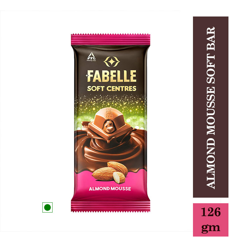 Chocolates & Candies, Fabelle Chocolates Almond Mousse Soft Bar - 126gm