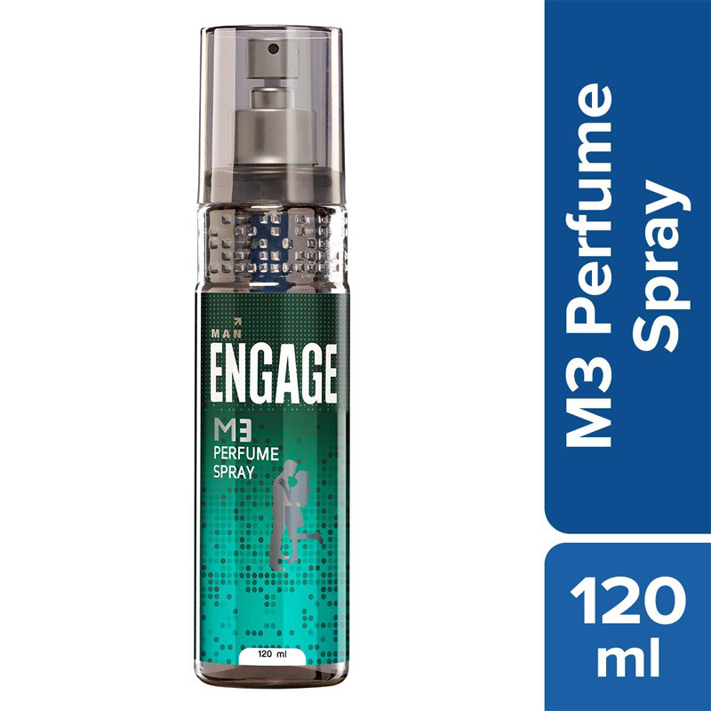Men's Grooming, Engage M3 Perfume Spray - 120ml