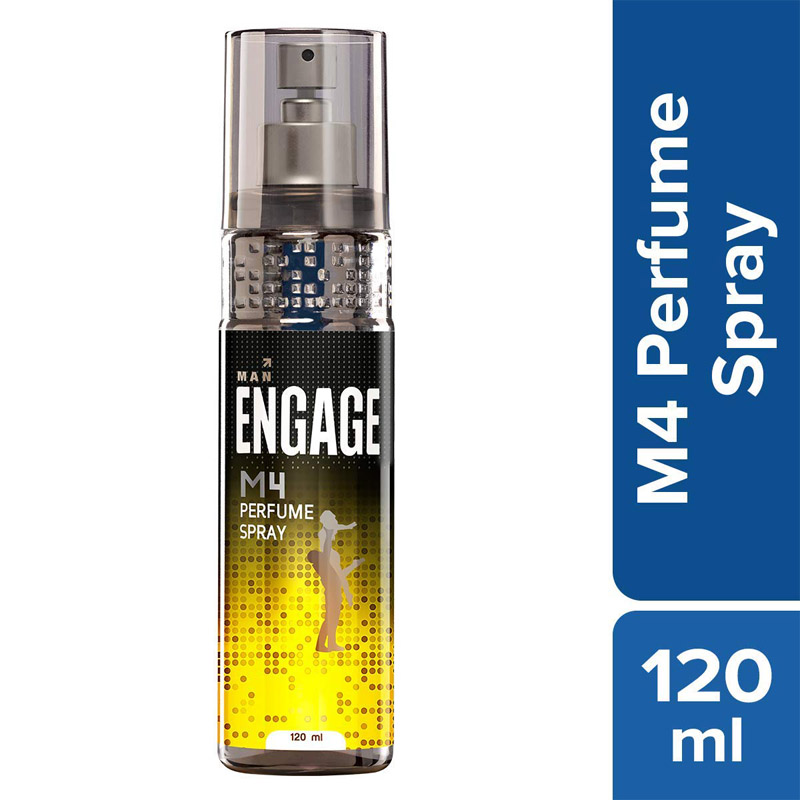 Men's Grooming, Engage M4 Perfume Spray - 120ml